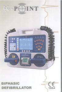 Defibrilator with monitor -1-1