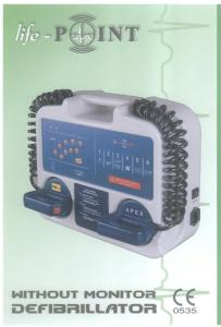 Defibrilator without monitor -1-1